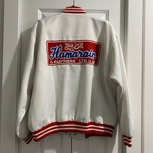 Jackets & Blazers - Vintage letterman basketball jacket